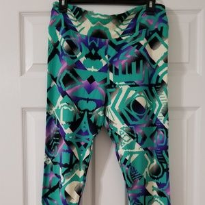 Soft LuLaRoe Leggings Teal TC